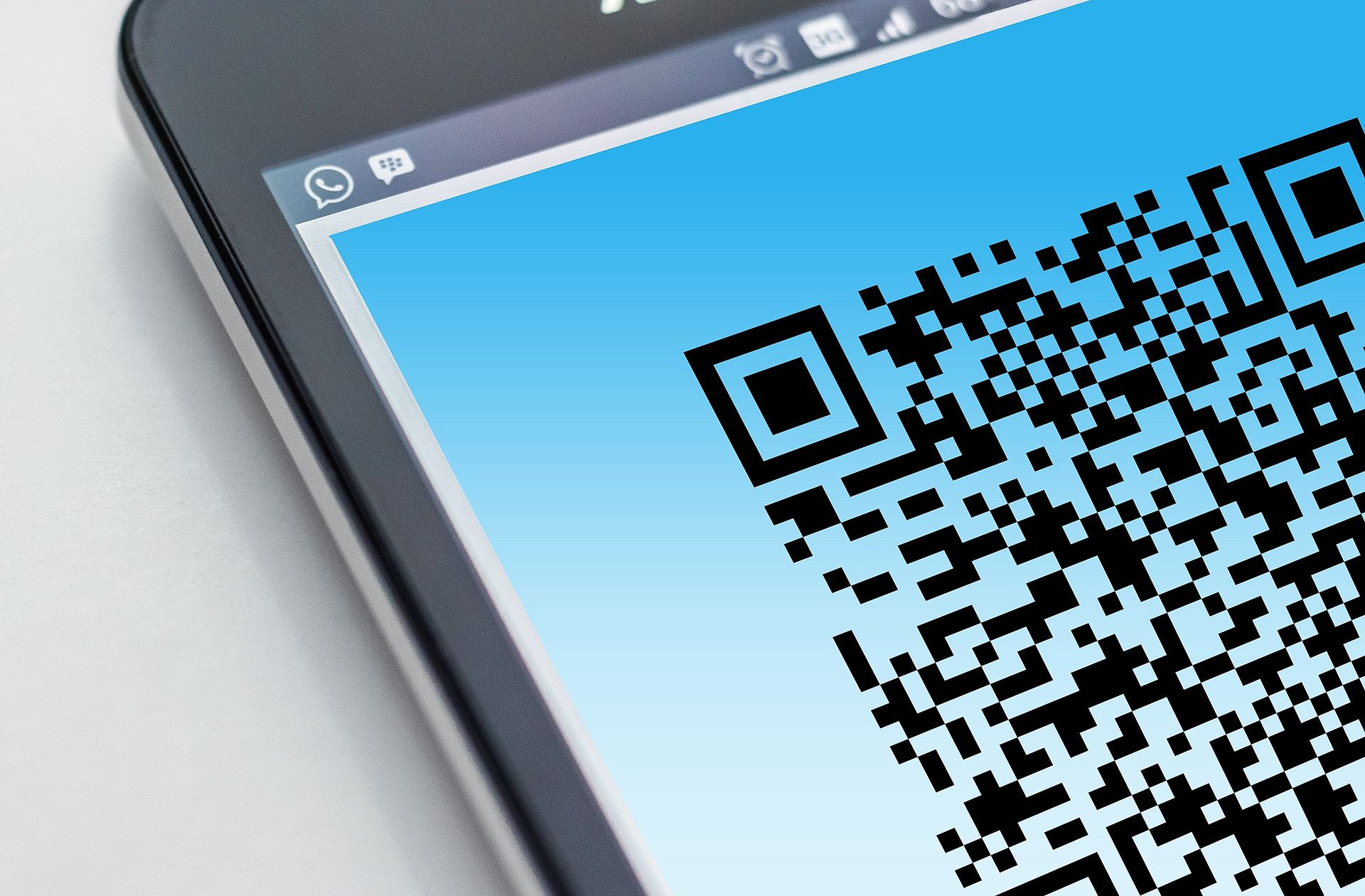 Barcode Scanner auf Android Basis